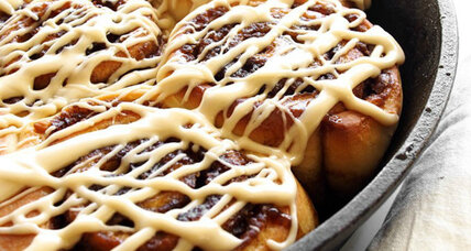 Maple syrup cinnamon rolls