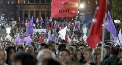 Left-wing Syriza set to win Greek vote despite Tspiras' bailout, resignation