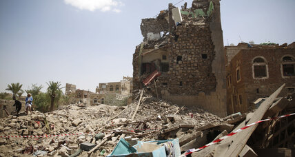 Saudi-led coalition airstrikes in Yemen's capital kill 29