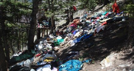 Huge Colorado trash pile lands homeless man in prison