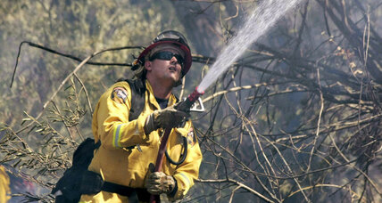 N. California fires burn 1,600 homes – including volunteer firefighter's