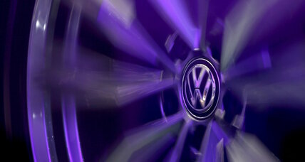 Volkswagen stock plunges 20% after false emissions data