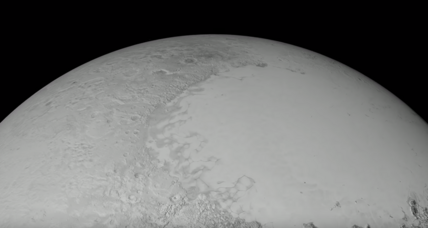 WATCH 'sheer beauty and power' of Pluto unfold in NASA flyover animation
