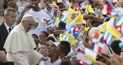 Can Pope Francis convince Castro to soften his reign?
