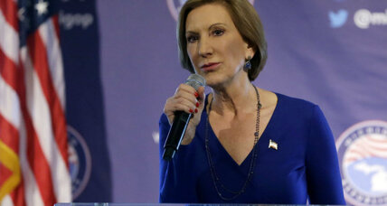 Does Carly Fiorina's business experience at HP matter?