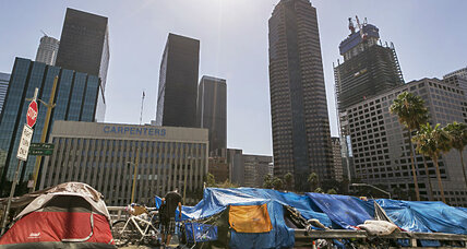 Why L.A. wants to spend $100 million on the homeless (+video)