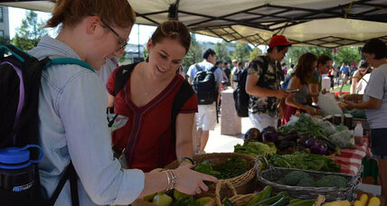 How sustainable food movement is shaping college dining – and vice versa