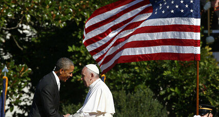 Pope Francis to Obama: Act now to stem climate change