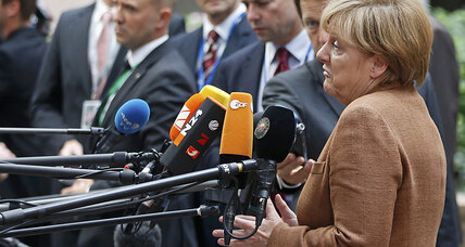 Lead Germany, or lead Europe? Merkel walks fine line on refugee crisis