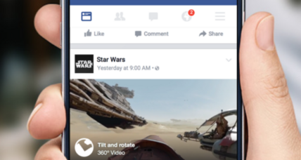 Look around: Facebook is bringing 360-degree video to your news feed