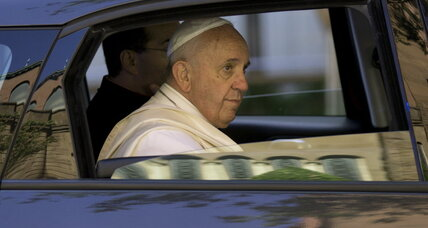 Pope Francis' climate message faces tough crowd in Congress (+video)