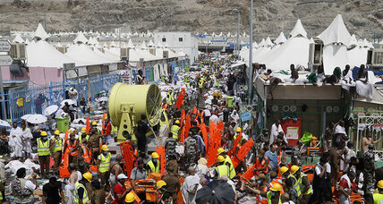 Over 450 hajj pilgrims killed during stampede near Mecca