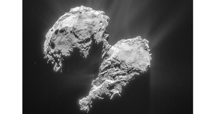 Comet's water blasts tied to sunlight, say scientists