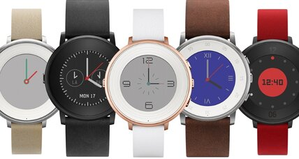 Pebble releases the Time Round, a stylish smartwatch with some compromises