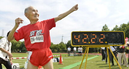 What can the world's oldest marathon runner teach us about sports?