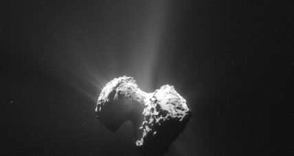 How a water cycle keeps a comet 'alive'