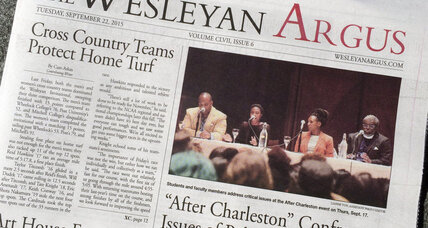 Why liberal Wesleyan students are boycotting the school newspaper