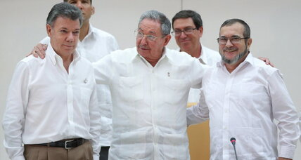 Colombia's breakthrough for peace and justice
