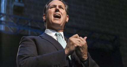 Rick Santorum's tax plan is new and flat