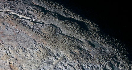 SEE Pluto's scaly surface in the latest dazzling images from New Horizons