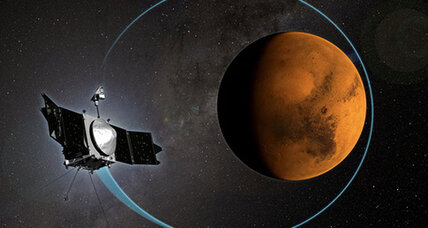 NASA Mars probe anniversary: A look back over one year at the Red Planet