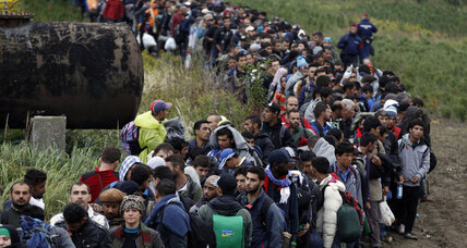 Europe beginning to cooperate to welcome mass migrants