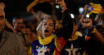 Exit poll: pro-secession parties headed for Catalonia win