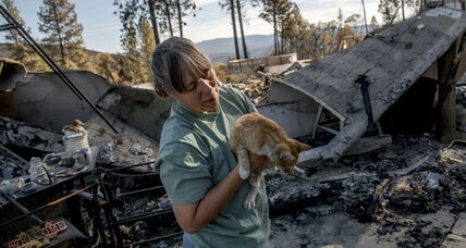 With wildfires nearly contained, scorched Calif. towns rally together
