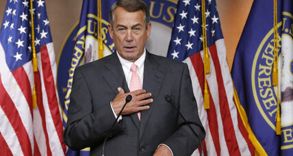 Will Boehner try to build bridges before leaving office?