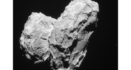 Rosetta finds clues about mysterious origins of comet 67P