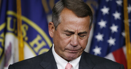 Why couldn't John Boehner control the 'false prophets'?