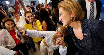 Why Carly Fiorina wants you to ditch your flip phone