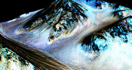Does liquid water on Mars make things easier for visitors from Earth? (+video)