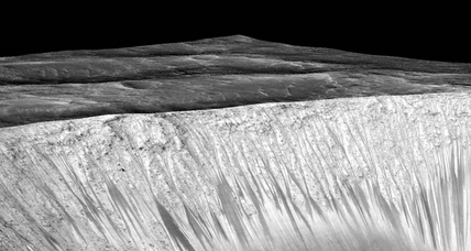 Why is liquid water on Mars necessary for life?