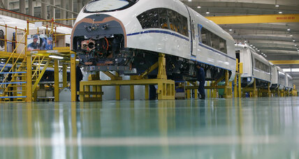 Can new railways help put China's economy back on track?