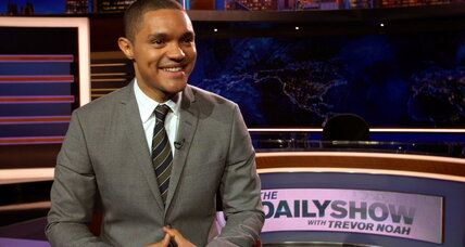 In 'Daily Show' start, Trevor Noah lands on his feet – to South African applause
