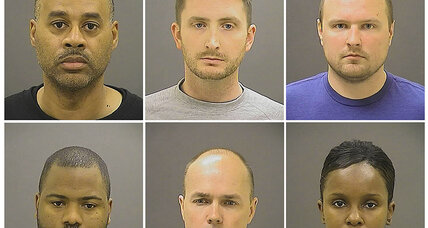 Trials scheduled for police officers indicted in Freddie Gray death
