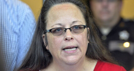 Why did Pope Francis secretly meet with Kim Davis?