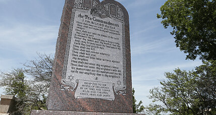Okla. officials vote to remove Ten Commandments from courthouse