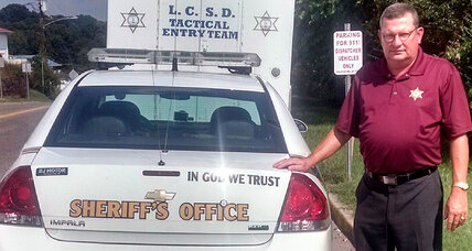 Is law enforcement use of 'In God We Trust' unconstitutional?