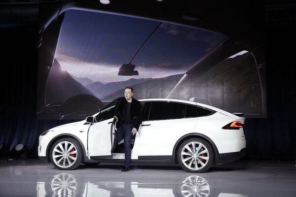 With New Suv Model X Tesla Aims For The Family Market At A