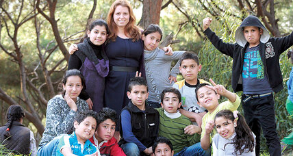 Alexis Hurd-Shires found her calling helping Syrian refugees