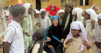 Kayo Oda left a safe career to teach Sudanese how to avoid land mines