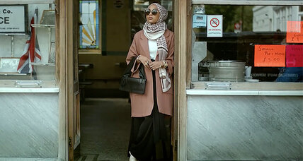 Is the hijab part of the fashion world? H&M thinks so.