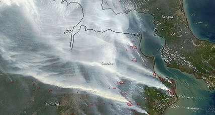 Indonesia's dry-season forest fires could be worst on record, says NASA