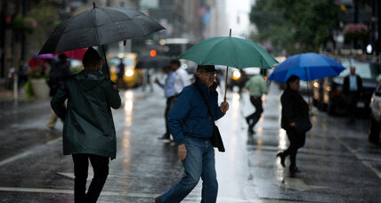 More rain, flooding forecast along soggy East Coast