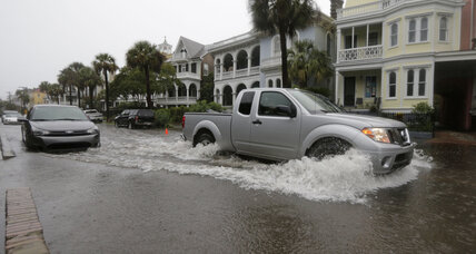 200-year rains flood the Carolinas. What's blocking the rain from leaving?