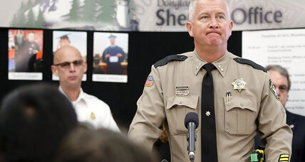 Oregon town answers shooter's hate with silence