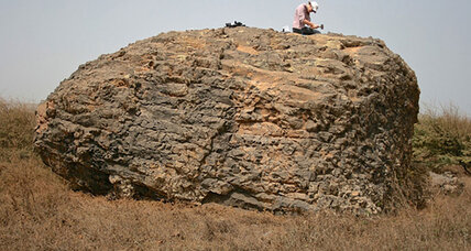 Out-of-place boulders hint at ancient 'megatsunami'