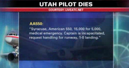 Co-pilot, crew praised for safely landing plane after pilot dies mid-flight